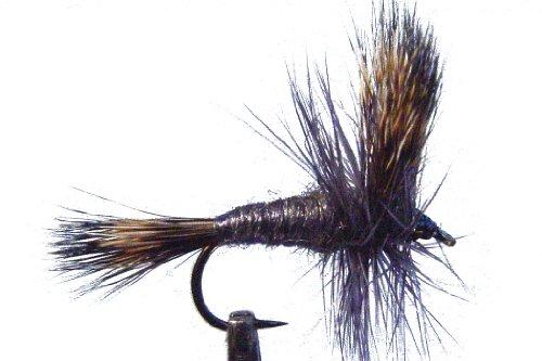 1 x Mouche sèche - WULFF GRISE - pêche à la truite -...