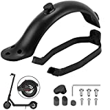 OUXI 2 Pieces Rear Fender Mudguard Bracket for Mi <span class='highlight'><span class='highlight'>Xiaomi</span></span> M365/ M365 Pro Electric Scooter Rear Fender Scooter Replacement Accessory with Screws and Screw Caps (black)
