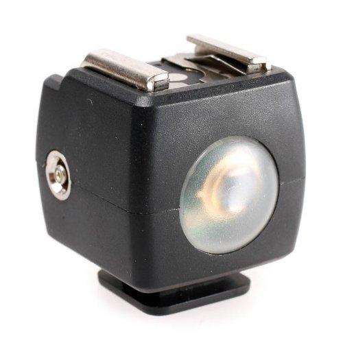 JJC JSYK-3B Servo-Blitzauslöser für Standard ISO Aufsteckblitz mit Mittenkontakt