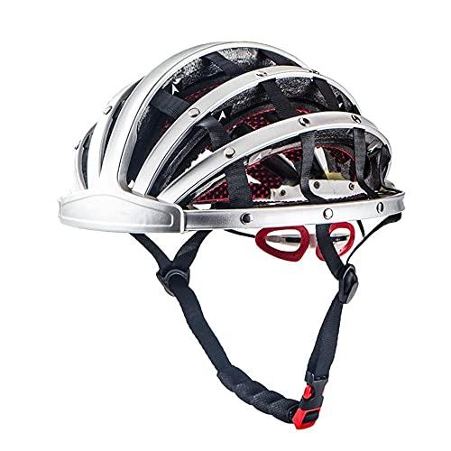 Heemtle Casque De Vélo Pliable Léger Réglable Portable Sécurité Casques De Vélo Vélo De Ville Sports Loisirs...