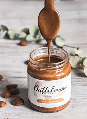 Bio Mandelmus 250g | Veganes Nussmus | 100% Natürlich & Gesund | Premium Qualität | Palmyra Delights | High Protein | Glutenfrei