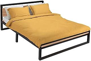 IDMarket - Lit Detroit 140x190 cm Design Industriel