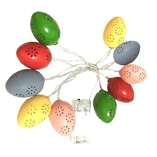 10 LED Light Easter Eggs For Easter Party Decoration Wedding Decoration Home & Garden Home Decor