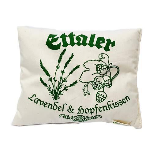 Original Ettaler Kloster Lavendel - Hopfen - Kissen Aromatherapie, Entspannung und Einschlafhilfe