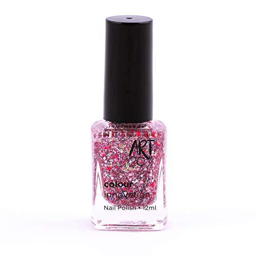 Art 2C Glitter-nation Colour Innovation - klassischer Nagellack - 96 Farben, 12 ml, Farbe: 718
