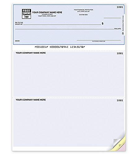 Business Computer Checks Compatible for QuickBooks/Quicken (Quantity 100)
