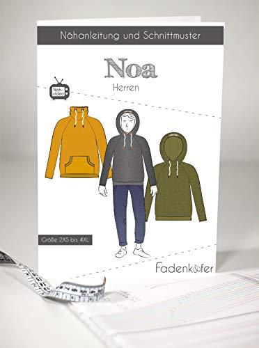 Schnittmuster und Nähanleitung - Herren Pullover - Noa