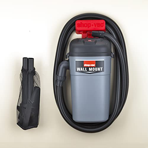 SHOP VAC CORP 3941000 4.0 Peak Hp Wall Mount Vacuum Unit 5 gallon