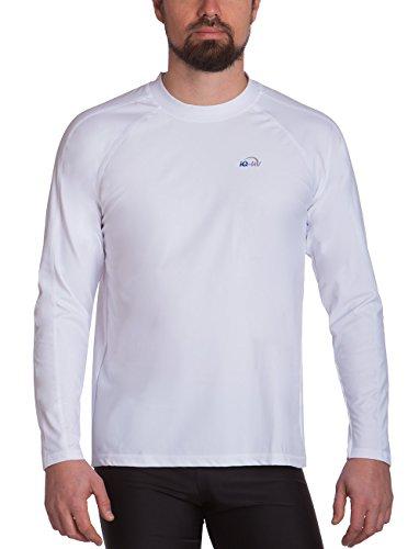iQ-Company Herren UV Kleidung 300 Shirt Loose Fit Long Sleeve, weiß, XXL, 6491222100