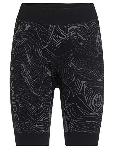 VAUDE Men's SQlab LesSeam Shorts Confortable Cuissard pour Le Cyclisme Homme, Black, FR : 2XL (Taille Fabricant : XXL/XXXL)