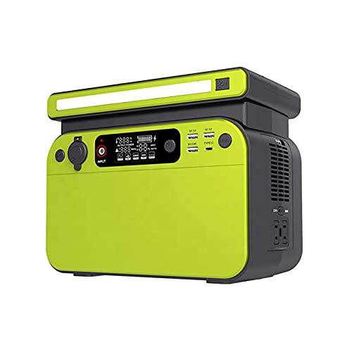 Centrale elettrica portatile all'aperto di CA 220V, 500W di grande capacità dell'alimentazione del generatore Batteria di backup di campeggio di energia di immagazzinamento di emergenza