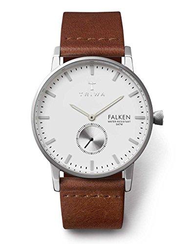 Triwa Unisex Erwachsene Chronograph Quarz Uhr mit Leder Armband FAST103-CL010212