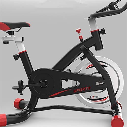N\A Bicicleta de Spinning Ultra silencioso Interior Deportes Equipo Profesional de la Aptitud aeróbica de Entrenamiento Ajustable de la Bicicleta Manillar y Asiento (Color : Negro)