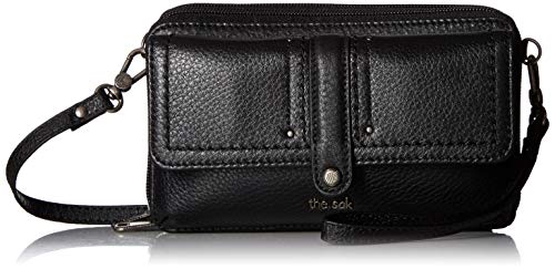 The Sak Sequoia Extra Large Smartphone Crossbody, Black