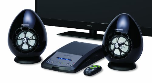 Olasonic 薄型テレビ用高音質スピーカー ブラック TW-D7OPT(B)