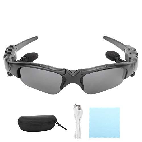 Socobeta Gafas de Sol Inteligentes para Exteriores con Auriculares Bluetooth