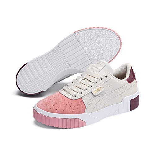 Puma Cali Remix, Zapatillas Deportivas para Mujer, Rosa (Pastel Parchment-Bridal Rose 01), 39 EU