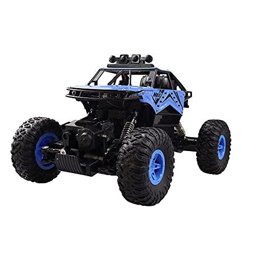 GDFDC Coche RC Todo Terreno De Alta Velocidad,Vehículo RC De Escalada Todoterreno De 2.4 G,Camión RC 4WD De 8Km/h,Buggy RC Eléctrico De Aleación, Regalos De Juguete para Niños Y Niñas