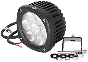 LED Work Light - 35W Compact Square Flood Beam Compatible with Case John Deere 210C 315SG 640E 310G 410B 410C 555G 310SG 3...