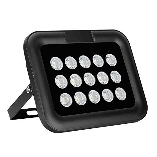 Yivibe Lámparas de Relleno CCTV, sustrato de Aluminio IP66 Luz de Relleno Impermeable, día/Noche automático para monitoreo de vigilancia