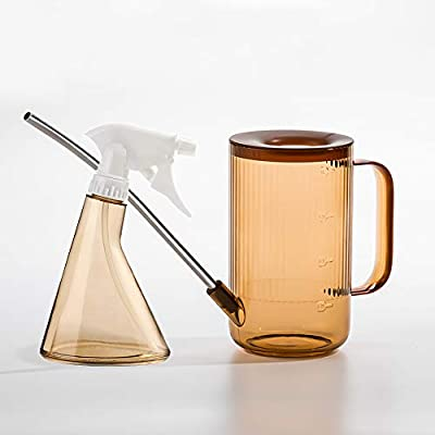 Bravedge 1 Liter Watering Can, Long Spout Water...