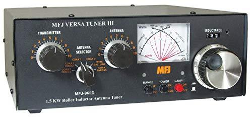 mfj-962d Antenna Tuner, 1.5kW, 1.8–30MHz, CN M, sw, bl