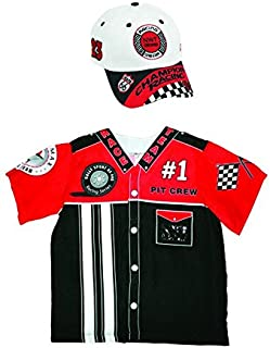 Aeromax My 1st Career Gear Pit Crew Mechanic Nascar Race Car Driver Costume Top