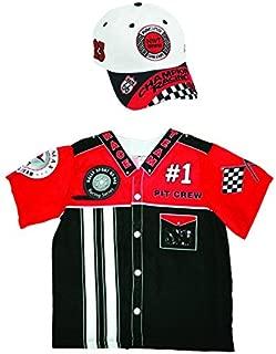 Aeromax My 1st Career Gear Pit Crew Shirt and Racing Cap (2 Piece Bundle).