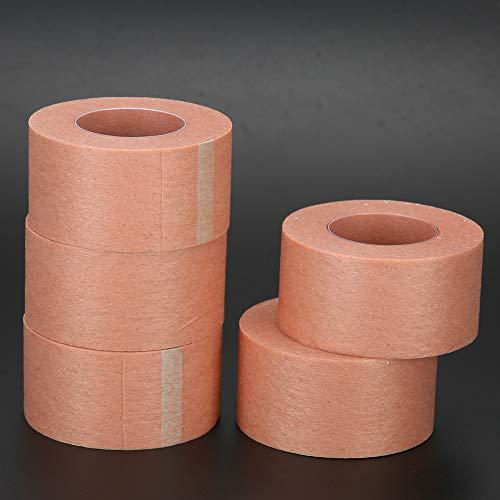 Cils, ruban d'extension de cils respirant auto-adhésif, ruban d'extension de cils en tissu non tissé en douceur, pour cils pour greffe de cils(2.5cm)