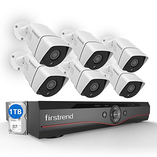 [Expandable] Firstrend 8CH POE Camera System with 6X ...