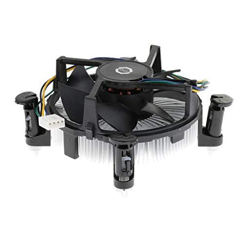 prasku Ventiladores de CPU de Computadora 2100RPM 9cm Disipador de Calor de Enfriamiento 170K para LGA 775 115X