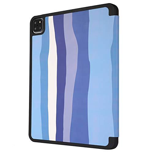Funda para iPad Pro 12.9 4th Generation 2020/3rd Gen 2018, Folio Smart Stand Cover con portalápices, Auto Sleep/Wake para iPad Pro 12.9 Inch (Color : C)