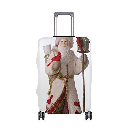 Funda elástica para equipaje de viaje con estampado delicado
