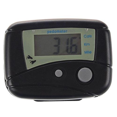 Cikuso Pedometro LCD Digitale elettronico Contapassi Passo Corsa Camminare Distanza Calorie Counter