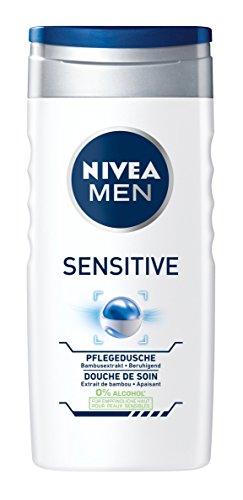 Nivea Men Sensitive Pflegedusche Duschgel, 2er Pack (2 x 250 ml)