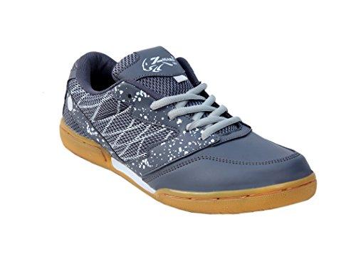 ZIGARO Grey Z501 Badminton Non Marking Shoe (7)