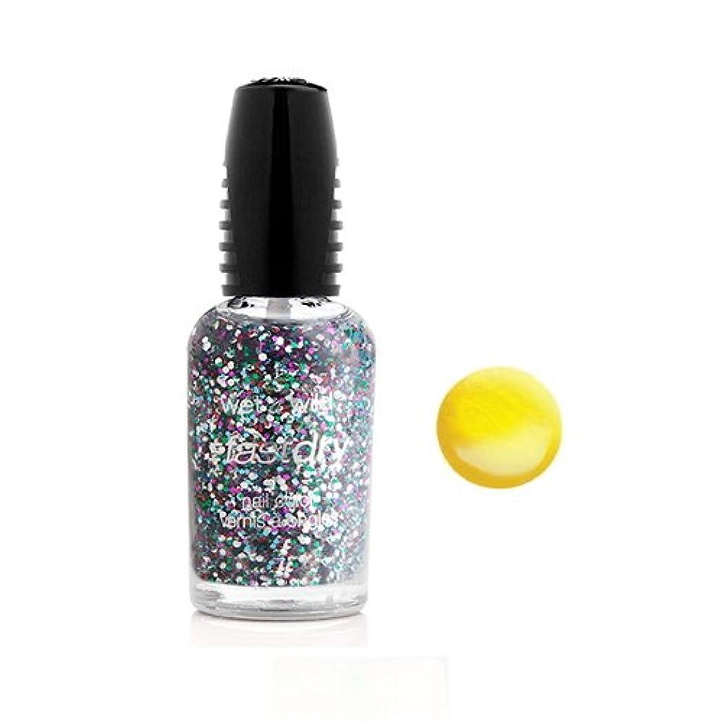 電球頑固な反対(6 Pack) WET N WILD Fastdry Nail Color - The Wonder Yellow (DC) (並行輸入品)