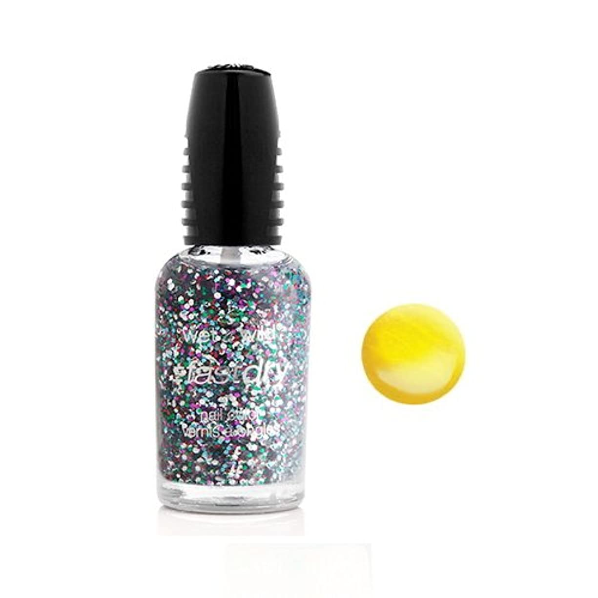 気体の電気の類推(3 Pack) WET N WILD Fastdry Nail Color - The Wonder Yellow (DC) (並行輸入品)
