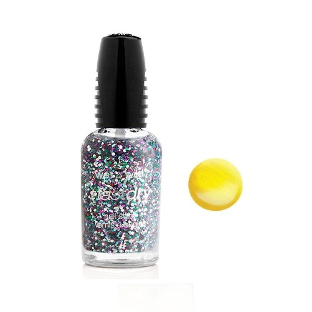 苦協定カートリッジ(6 Pack) WET N WILD Fastdry Nail Color - The Wonder Yellow (DC) (並行輸入品)