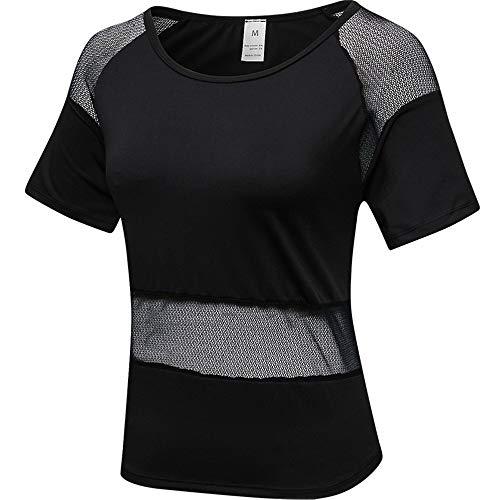 Ryyland-Home - Yoga-T-Shirts für Damen in Weiß, Größe XX-Large