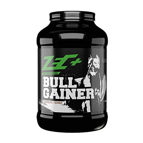 Zec+ Bullgainer - Schokolade 3500 g, Protein-Pulver mit Vitaminen, Aminosäuren und Kohlenhydrathen zum Masseaufbau, Made in Germany