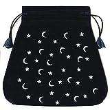 Moon and Stars Velvet Lo Scarabeo Bag (Bolsas de Lo Scarabeo Tarot Bags From Lo Scarabeo)