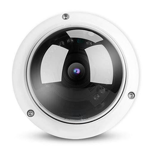 Yivibe Vigilancia de Seguridad, cámara Impermeable, cámara para el hogar, Monitor de cámara, Profesional habitación de los niños(1MP PoE IP)