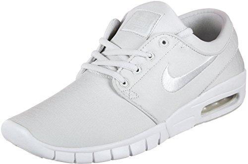 Nike Herren Stefan Janoski Max (gs) Fitnessschuhe, Mehrfarbig (Vast Grey/White 007), 36 EU