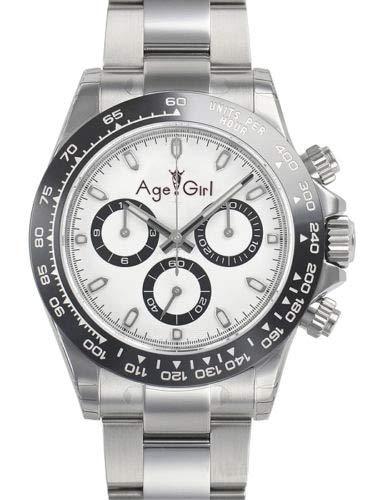 NSBKSB Herrenuhr Luxusmarke New 40mm Schwarz Keramik Lünette Herrenuhr Quarz Herren Chronograph Uhren Qualität Weiß