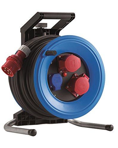 HEDI K3D33162T2 Drehstrom-Kabeltrommel, 400 V, blau, schwarz