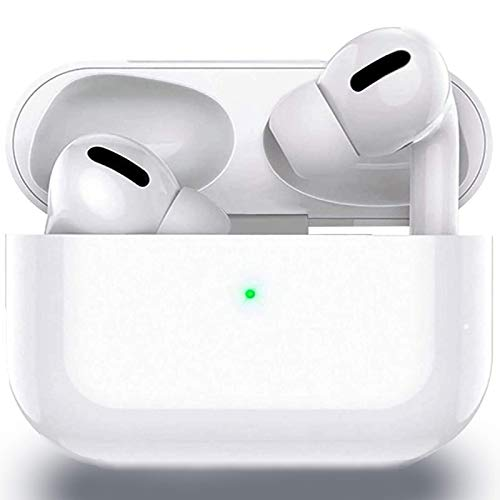 Wireless Earbuds Headphones Air Podswireless Bluetooth 5.0 in-Ear Ear Buds Built in Mic 3D Stereo Noise Cancelling Mini Charging Case IPX5 Waterproof Headphones for iPhone/Android/Apple Earbuds