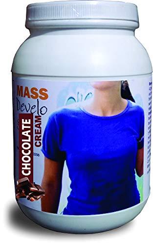 Develo Weight & Mass Gainer Protein for women's Health gain, Powder – 1 kg (Chocolate)
