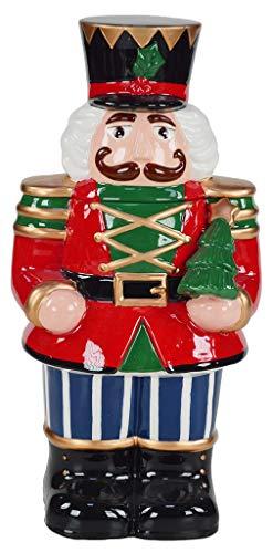 justhome, Cubi Gift nbk-2522Caja, cerámica, Multicolor, única