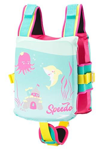 Speedo Unisex-Child Swim Float Coach Vest , Bright Pink